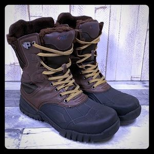 Pajar Leather Rubber Winter Snow Boots